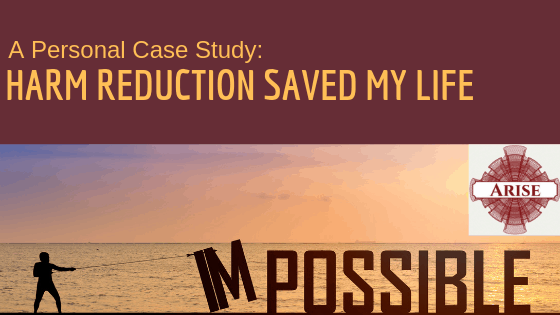 Blogpost header for A personal Case Study How Harm Reduction saved my life