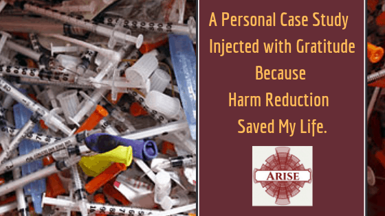 Blog post header image for Harm reduction save my life