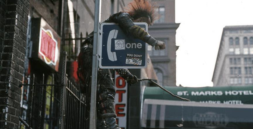 St marks Hotel 1990 blog post image a street junkies nightmare before christmas