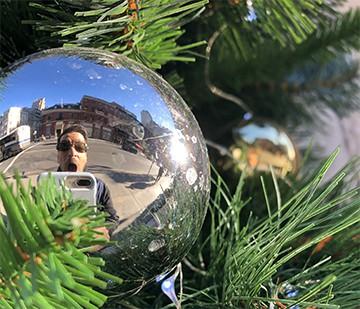 a  street junkies nightmare before Christmas