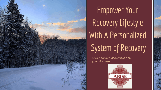 Blog post header image for Empower Your Recovery Lifestyle With A Personalized System of Recovery